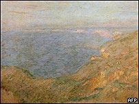 Los acantilados de Dieppe, de Claude Monet